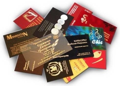 На что следует обратить внимание при заказе визитных карточек.