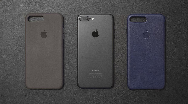 Обзор оригинальных чехлов для iPhone 7 и Plus